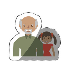 people together family image vector image