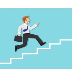 promotion and persistence in business vector image