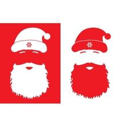 Santa Claus fashion style vector image