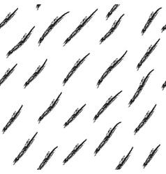 Hatch black seamless pattern vector image