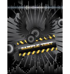 speaker background vector image