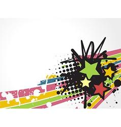 Star design vector image