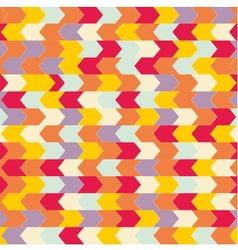 Chevron seamless pattern or tile background vector image