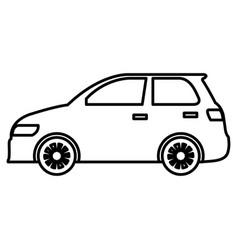 Car sedan vehicle icon vector