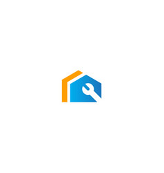 house realty repair realty logo vector image