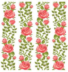 roses wallpaper vector image