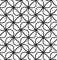 Seamless diagonal ellipse ring pattern background vector