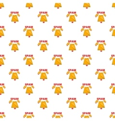 Spam e-mails pattern cartoon style vector