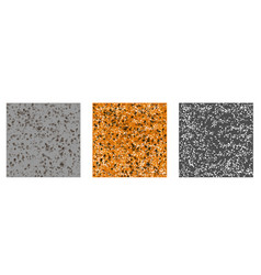 texture stones pattern set vector image