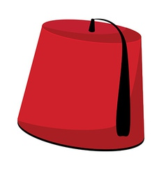 Turkish hat vector image vector image