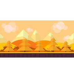 Game Seamless background flat Style 2d vector image vector image
