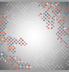 Abstract lattice background vector