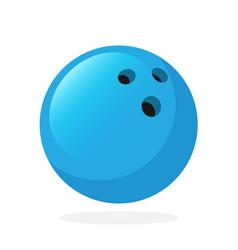 Bowling ball vector