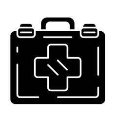 Emergency help glyph icon vector