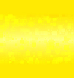 Yellow and lemon colors glowing various tiles vector