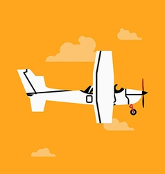 Airplane Icon vector image vector image