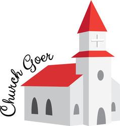 Church Goer vector image vector image