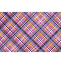 Pink purple plaid pixel texture fabric seamless vector