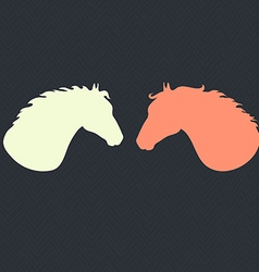 HorseHead5 vector image vector image