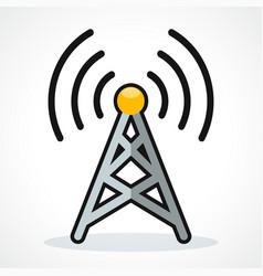 Broadcast icon design clipart vector