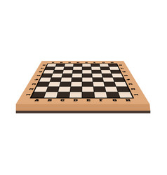 Chessboard and board sign vector