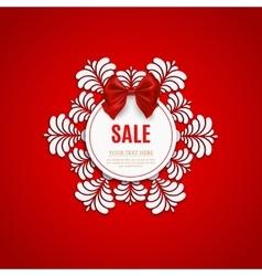 Christmas sale design template Christmas sale vector