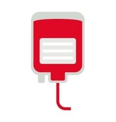 Donate blood medical hospital drop transfusion vector image