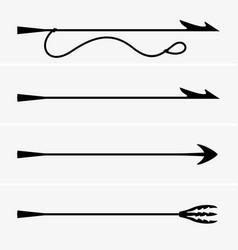 Harpoons vector