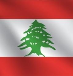 Lebanon flag vector