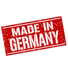 Made in germany stamp vector