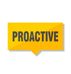 Proactive price tag vector