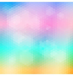 Soft colored abstract mosaic background vector