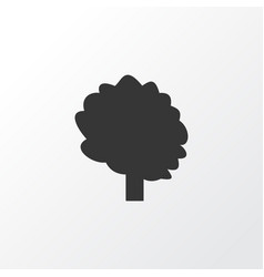 tree icon symbol premium quality isolated wood vector image