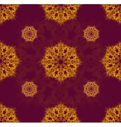 Orange ornament vector image