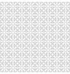 seamless black guilloche background vector image vector image
