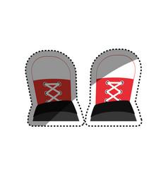 urban sneakers footwear vector image