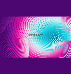 abstract flow lines background with elegant and vector image