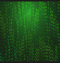 Abstract technology background with computer code vector
