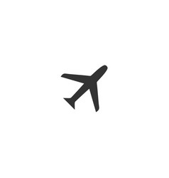 airplanes icon flat vector image