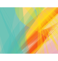 background banner transparent wave lines vector image