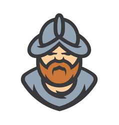 Conquistador medieval conqueror warrior vector
