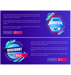 discount sale new offer on vector image