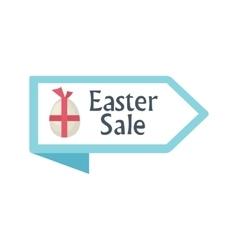Easter Sale arrow icon vector image