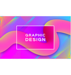 geometric abstract background gradient fluid vector image