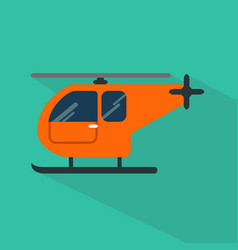 helicopter icon set of great flat icons with vector image