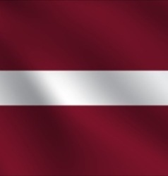 Latvia flag vector
