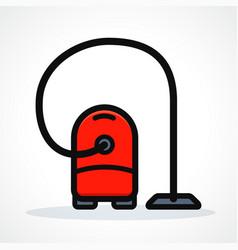 vacuum design vector image