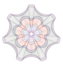watermark guilloche design for background vector image