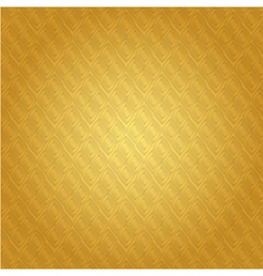 Background Thai gold Pattern vector image