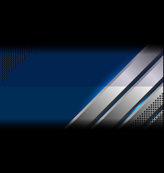 Blue abstract metal background vector